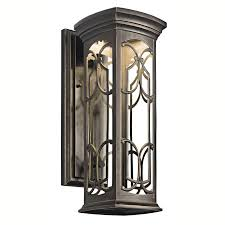 Exterior Wall Sconce 49227ozled Franceasi Energy Efficient Sky Outdoor Wall Sconce