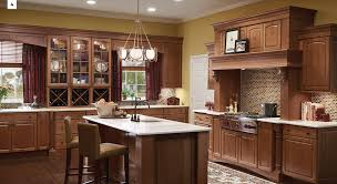 modern kitchen with cherry wood cabinets 4 unique ways to use cherry cabinets in your kitchen kraftmaid