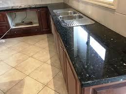 blue countertop kitchen ideas knowing more an emerald pearl granitecapricornradio homes