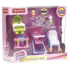 fisher price loving family everything for baby riru s