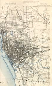 Map Of Old New York by Buffalo Ny Railfan Guide Downtown