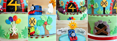 manju u0027s eating delights thomas the train and friends cake for a