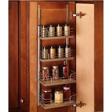 Spice Rack Including Spices Door Mount Cabinet Organizers And Accessories By Hafele From