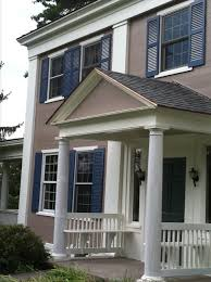 Color Houses by Shutters Shatter Traditional Color Combinations Grey Siding