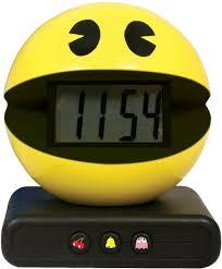 amazon com paladone pac man alarm clock home u0026 kitchen
