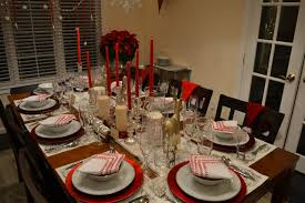 How To Set Dining Room Table Cool Dining Room Set Up For Holidays Contemporary Other Table