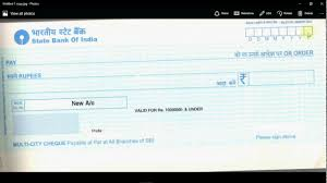 Authorization Letter Check Encashment how to fill a cheque youtube