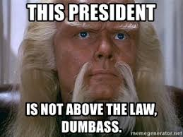Red Forman Meme - this president is not above the law dumbass federation president