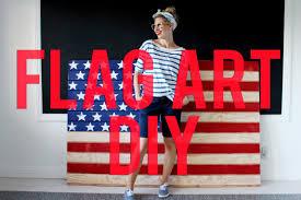 American Flag Wall Hanging American Flag Wall Art Diy Youtube