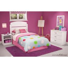 kids bed headboard south shore libra 3 piece pure white twin kids bedroom set 3050223