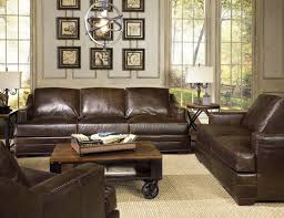 leather sofa with nailheads brown leather sofa recliner living room decorating ideas with