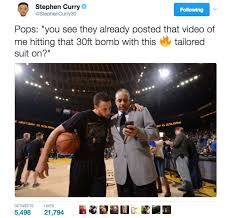 Stephen Curry Memes - dell curry s pregame shot was so good even son steph posted memes