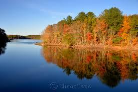 Fall Foliage U2013 Goose Cove Reservoir Gloucester Ma 3