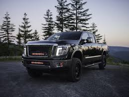 nissan truck 2017 2016 2017 nissan titan grille no camera black rigid industries