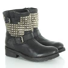 womens biker boots sale uk 29 original womens black ankle biker boots sobatapk com