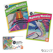 color by number mystery mosaics book 10