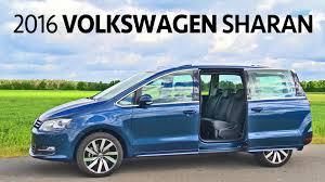 volkswagen minivan 2016 interior 2016 volkswagen sharan interior and exterior walkaround