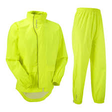 thin waterproof cycling jacket tenn unisex unite 5k cycling jacket u0026 trouser set hi viz yellow