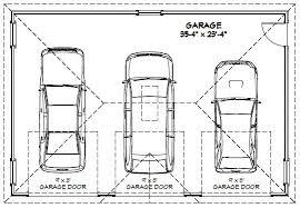 size of a 3 car garage 3 car garage floor plans inspiration decorating 39579 ideas