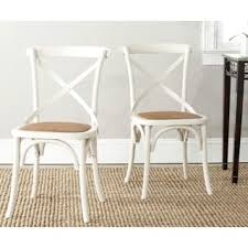 Classic Dining Chairs Safavieh Country Classic Dining Eleanor Antique White X Back