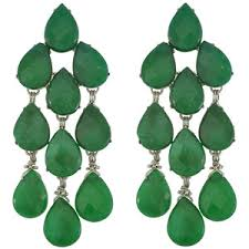 green drop earrings green drop earrings shop for green drop earrings on polyvore