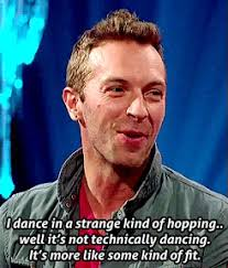 Chris Martin Meme - but people come to see it in concert this is litterally how