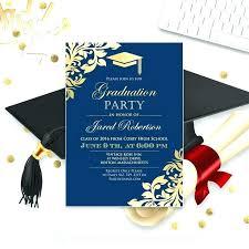 free graduation invitations inspirational high school graduation invitation templates free or