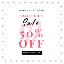 valentines sale valentines sale flyer by infinite78910 graphicriver