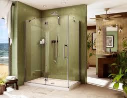 Bathtub In A Shower Backyards Replacing Shower Door Ideas Howto Bathdoor How To