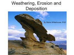 weathering erosion and deposition 3rd 4th grade teach