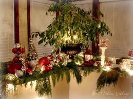 thrifty christmas decorating with cedar boughs fox hollow cottage