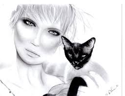 cat eyes woman sketch art my sketches my drawings my art