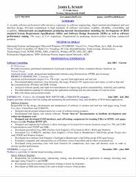 Sample Resume For Experienced Software Engineer Pdf Chef Template Resume Virtren Com