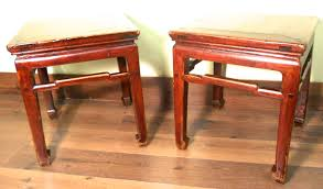 Antique Woodworking Benches Sale by Antique Chinese Ming Meditation Bench 3274 Pair Circa 1800