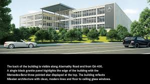 mercedes us headquarters mercedes headquarters key business recruiting tool for