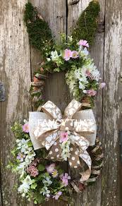 easter bunny wreath easter bunny wreath easter grapevine bunny moss easter