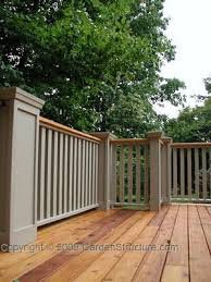 the business of building decks and fences what kind of wood for