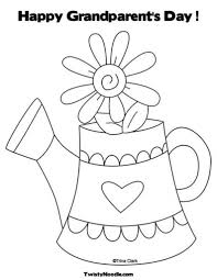 the most amazing grandparents day coloring pages with regard to