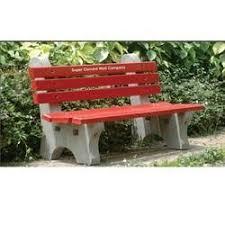 Lucknow Bench Rcc Garden Bench In Lucknow Uttar Pradesh India Indiamart
