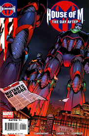 house of m decimation house of m the day after volume comic vine
