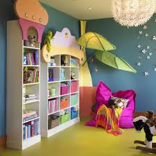 playroom ideas for a contemporary kids with a bedroom and cary