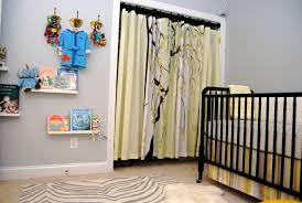 l shaped shower curtain rod in nursery contemporary with ceiling