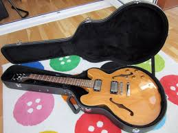 epiphone dot 335 electric guitar with seymour duncan seth lover