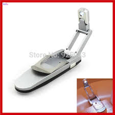 clip on reading light for bed new super bright mini portable foldable clip on led book reading