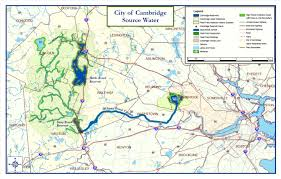 Massachusetts City Map by Source Water Infrastructure And Properties Water City Of