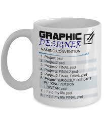amazon com graphic designer naming convention mug best