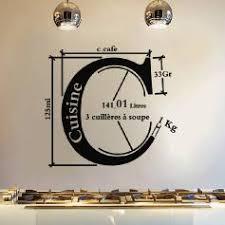 unit de mesure cuisine sticker design cuisine stickers muraux cuisine ambiance sticker