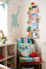 cool picture of mounted wall solid birch wood ikea kid shelf and