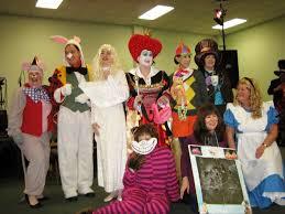 Halloween Costumes Alice Wonderland Literary Halloween Costumes Book Club Cheerleader