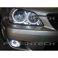 lexus is300 headlight assembly lexus is300 white led headlight halo kit 2001 2005